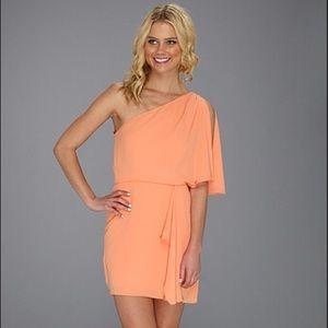 Peach BCBGMaxAzria Dress